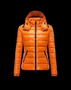 Cheap 2013 Womens Moncler Jackets Orange