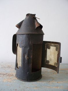 Oude Franse lantaarn (rond model)