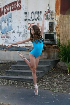 Sophia Aurora Silveria in Yumiko leotard. Ballet Photo Shoot.