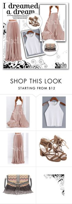 """""""SheIn 7/III"""" by nermina-okanovic ❤ liked on Polyvore featuring shein"""