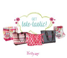 Spring into warm weather and family adventures with functional, fun totes!
