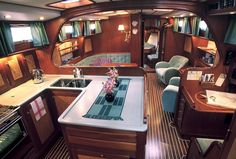 """Life as a Liveaboard: Making your Boat your Permanent Residency """".it's not far fetched, living on your boat can be done easily!"""" boats Life as a Liveaboard: Making your Boat your Permanent Residency Liveaboard Sailboat, Liveaboard Boats, Sailboat Living, Living On A Boat, Make A Boat, Build Your Own Boat, Used Boat For Sale, Boats For Sale, Sailboat Interior"""