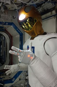 Robonaut 2 is the International Space Station's resident humanoid robot.