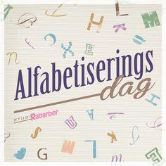 We zouden er bijna aan voorbij gaan, maar vandaag is het tijd voor taal: het is internationale alfabetiseringsdag. Hoezee.