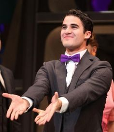 """Darren Criss In """"How to Succeed in Business Without Really Trying."""""""