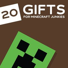 20 Awesome Gifts for Minecraft Junkies- to keep the creepers at bay.