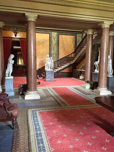The entrance hall at Brodsworth Hall, the setting for Across the Blue, photo by Michelle Griep Falling In Love With Him, One Pilots, Entrance Hall, Historical Romance, Childhood, Blue, Entryway, Infancy, Childhood Memories