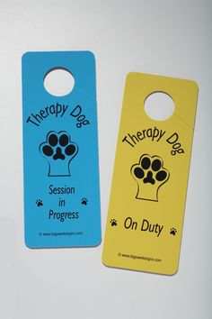 Casepacks: Door Hangers Therapy Dog