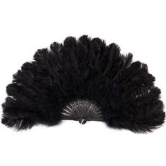 White and Gold Wedding. Bridesmaids Black Feather Fan Wedding