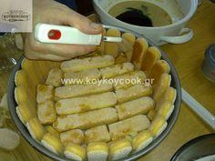 ΤΙΡΑΜΙΣΟΥ (ΤΟ ΑΥΘΕΝΤΙΚΟ) – Koykoycook Baklava Recipe, French Toast, Pork, Food And Drink, Meat, Breakfast, Recipes, Kale Stir Fry, Morning Coffee