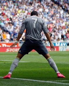 ..._ 7 Cristiano Ronaldo. Real Madrid