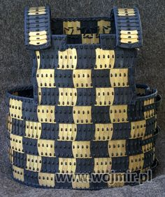 D shape lamellar Birka style - cool pattern ideas and you can buy them from this site too
