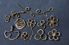 Mu-Yin Jewelry: sneak peak of new designs - wire sculpture