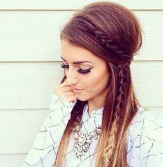 Ibiza hairstyle