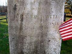 John Rockwell, Sr. - Revolutionary War Veteran