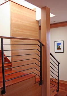 Modern Stair. West Lantern Project, Sun Valley, ID  361-team.com