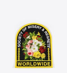 Society of Misery & Regrets patch by Ball and Chain