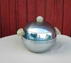 Vintage West Bend Penguin Ice Bucket Hot Cold Server by Incredibletreasures on…