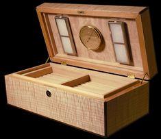 Custom-Made Humidor  Unique Humidor Hardware Including Fischer Hygrometer and Heartfelt Bead Humidifiers хьюмидор هومیدور 葉巻ヒュミドール 휴 미더 neme puro 雪茄盒 کننده خنک  #wood #woodworkingtools #cigaraccessories #montecristo #craftmanship #cigarlover #cigartime #cigarsmoker #cigarworld #marquetry #humidor #conocedorfinland  #carpentry #carpenter #customwoodwork #woodworking #woodworkingprojects