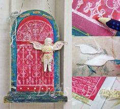 Hanging Artful Shrine Frame - Scrapbook.com,LOVE THIS ONE,WITH 1 DOOR