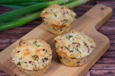 Herzhafte Lauch-Speck-Muffins Rezept - MakeItSweet.de