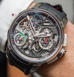 "Angelus U30 Tourbillon Rattrapante Watch Hands-On - on aBlogtoWatch.com ""When I said I was looking forward to seeing the Angelus U30 Tourbillon Rattrapante hands-on, I meant it. I first covered this watch a couple of weeks ago in the typical pre-Basel watch release frenzy – but even at that time, the Angelus U30 Tourbillon Rattrapante stood out as something so complicated, perhaps simply just aspirational, that I had to take its promised functionalities and complexities with a grain of…"