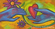 Heart love by Susan Tolonen