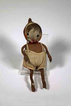 Early Brownie Doll. c. 1920-1940