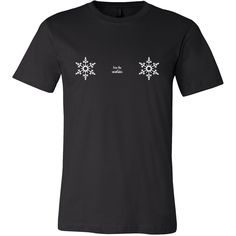 d47212b1f5e18 Free the Snowflakes - Canvas Men s Tee - Funny