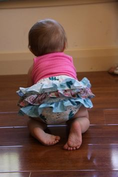 Girls Sewing pattern Baby bloomers PDF Instant Download sewing tutorial toddler Newborn to 18 months