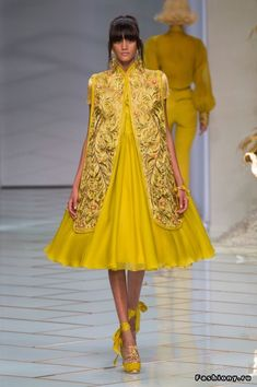 Guo Pei Haute Couture Весна-Лето 2016