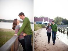 Engagement photos in Annapolis