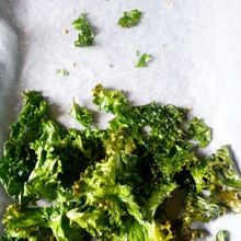 KALE CRISPS They hit the spot in the same way actual crisps do – except they are the super healthy equivalent. Even if you think they sound like they shouldn't be nice, they are nice. Promise.