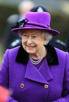 Queen Elizabeth February 3, 2013 | The Royal Hats Blog