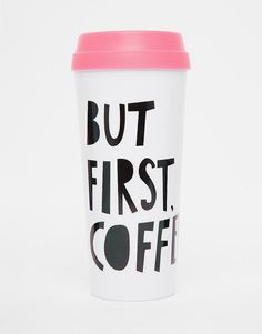 Image 1 of Ban.Do But First Coffee Thermal Mug