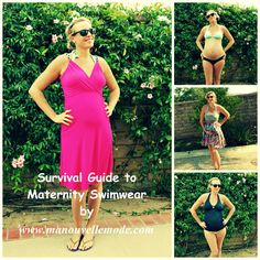 Survival Guide to Maternity Swimwear  http://manouvellemode.com/2012/05/22/survival-guide-to-maternity-swimwear/#