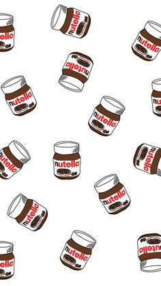 nutella Snap Case for iPhone 6 & iPhone Tumblr Wallpaper, Screen Wallpaper, Wallpaper S, Pattern Wallpaper, Cute Food Wallpaper, Glittery Wallpaper, Wallpaper Fofos, Cute Backgrounds, Cute Wallpapers