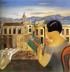 Woman at the Window in Figueras - Salvador Dali