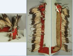 Sioux horned trailer bonnet.  NMNH