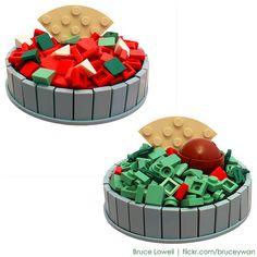 LEGO Salsa and Guacamole by bruceywan, via Flickr