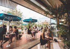 Coogee Pavilion Rooftop designed by Amanda Talbot, Akin Creative designer Emilie Delalande and founder Kelvin Ho, Justin & Bettina Hemmes