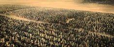 Scene uit Lord of the Rings: The Return of the King (2003) geregisseerd door Peter Jackson.   Als je in deze scene het geluid uitzet stelt het niks meer voor, het is een belangrijke twist in de film. De audio neemt je veel meer mee in het verhaal en laat je ook dingen voelen. Zonder geluid heb ik dat niet bij deze scene, dan voel je je veel minder verbonden.