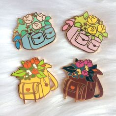 Stickers Kawaii, Little Presents, Jacket Pins, Cool Pins, Pin And Patches, Hard Enamel Pin, Metal Pins, Pics Art, Pin Badges