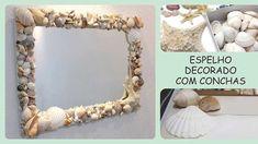 Passo a passo da montagem deste espelho em: http://www.angelinne.com.br/espelho-com-conchas-do-mar/