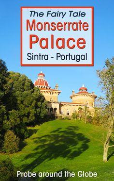 visit Monserrate Palace and Gardensin #traveltips  #portugal #travel