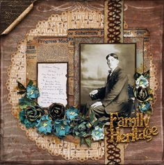 Scrap, Travel, and Bark!: More projects with Swirlydoos Kit Club Artful Blues February Kit
