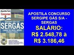 Apostila Para Concurso público (SERGAS) Aracaju Sergipe Nível Médio Comu...
