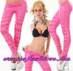 86a4f9db7ce7 Leggings - Venus fashion női ruha webáruház , ruha webshop, női ruha.  Gazda. Szexi pink szaggatott hatású leggings nadrág ...