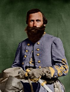 jeb stuart colorized | The Civil War 150th Blog: Battle of Chancellorsville – May 1 ...