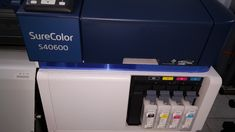 Original Epson S-Series Inkjet Printer with Tfp Print Head Epson Inkjet Printer, Banner Printing, Large Format, New Print, Printers, Digital Prints, The Originals, Fingerprints